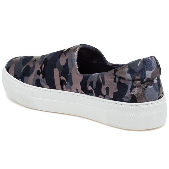 aa4ea19efe87e JSlides Ariana Grey Camo Fabric Sneaker