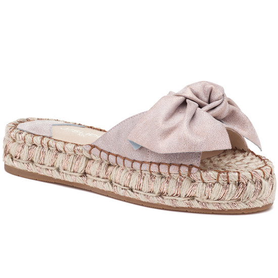 RITSY Soft Pink Suede