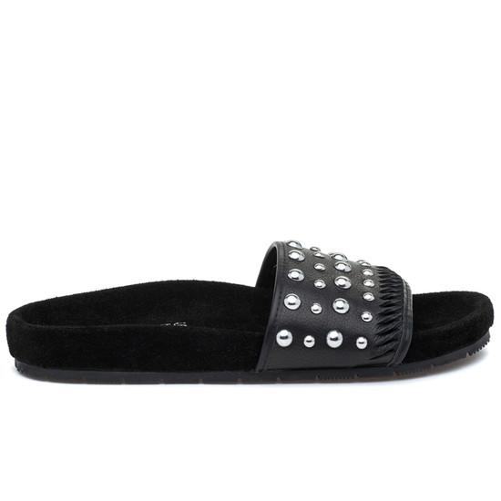NORA Black Leather