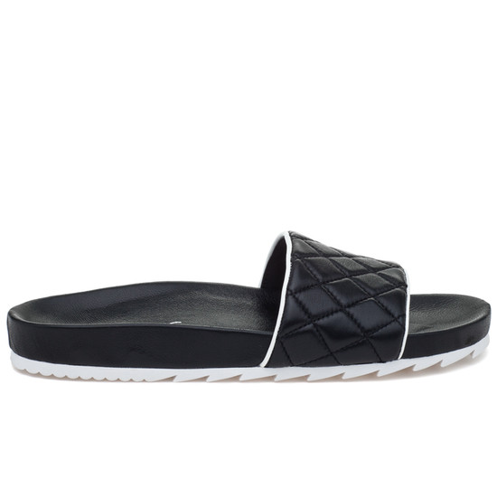JSlides EDGE Black Leather