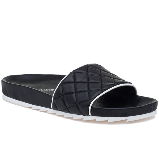 JSlides EDGE Black Leather