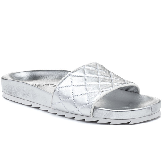JSlides EDGE Silver Leather
