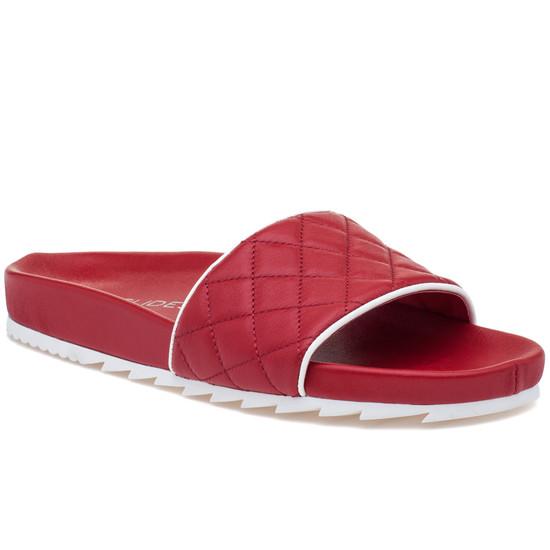 JSlides EDGE Red Leather
