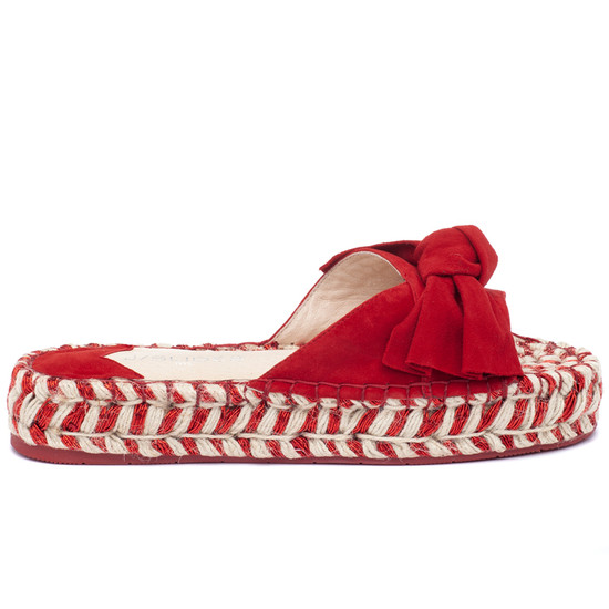 JSlides RITSY Red Suede