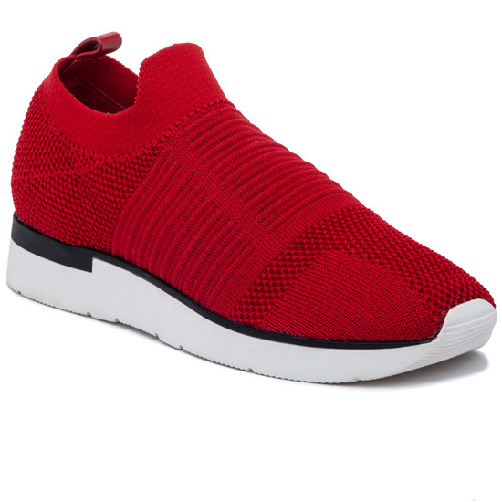 JSlides GREAT Red Knit