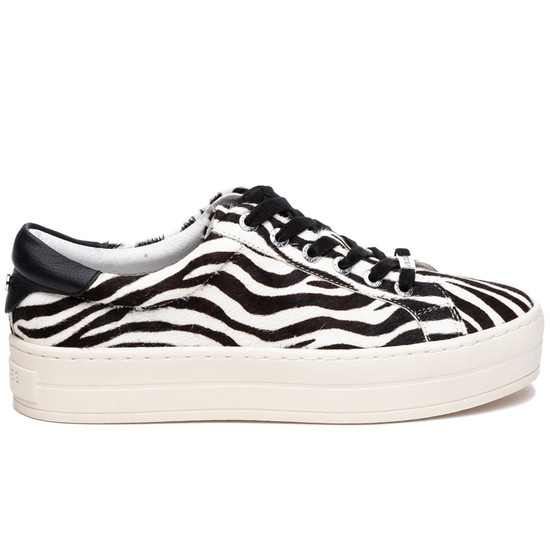 JSlides HIPPIE Zebra Pony Leather