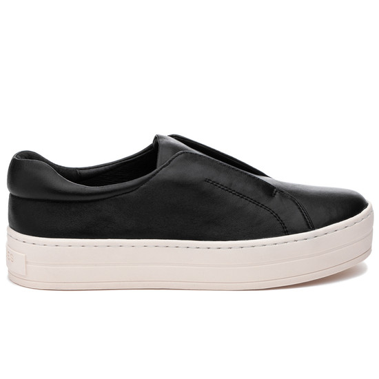 JSlides HEIDI Black Leather
