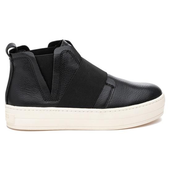 JSlides HOLLAND Black Leather