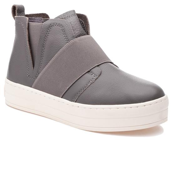 JSlides HOLLAND Taupe Leather