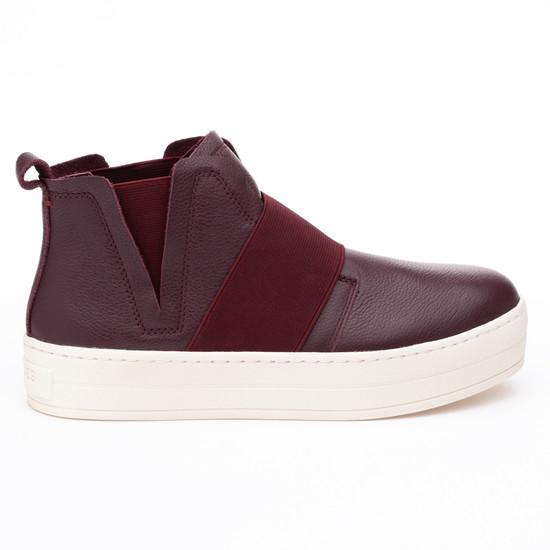 JSlides HOLLAND Burgundy Leather