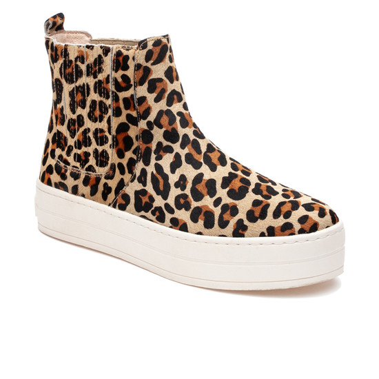 JSlides HYPO Leopard Pony Leather