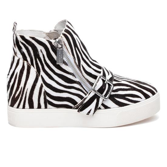 STUDDIE1 Zebra Pony Leather