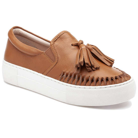 JSlides AZTEC Tan Leather