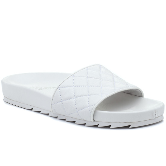 JSlides EDGE White Leather
