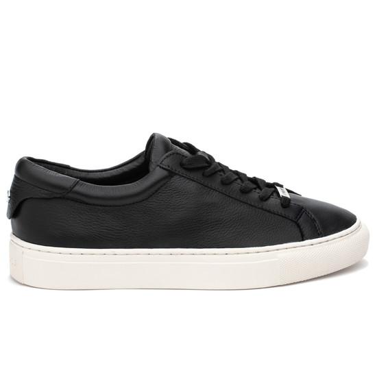 JSlides LACEE Black Leather