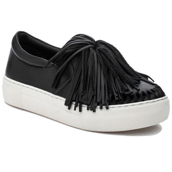 JSlides ARIA Black Leather
