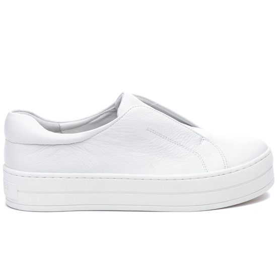 HEIDI White Leather