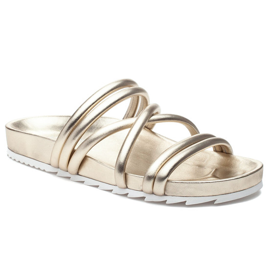 JSlides TESS Light Gold Leather