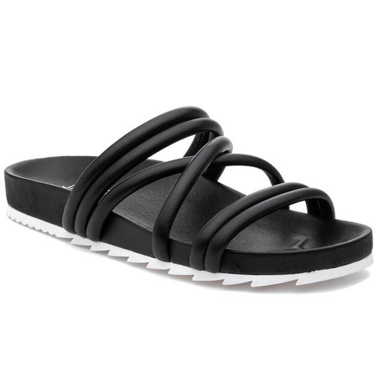 JSlides TESS Black Leather