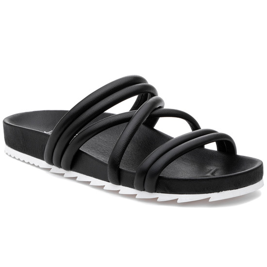 JSlides TESS Black Leather