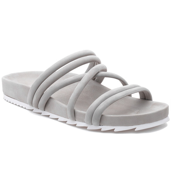 JSlides TESS Light Grey Nubuck