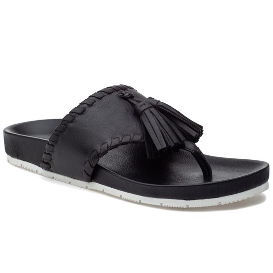 JSlides NIGEL Black Leather
