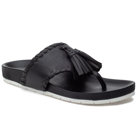 JSlides NIGEL Black Leather