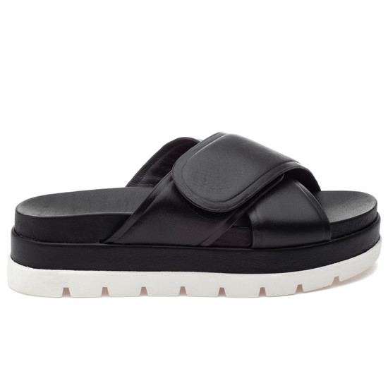 JSlides BELLA Black Leather