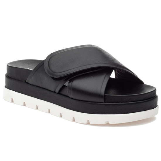 JSlides BELLA Black Leather