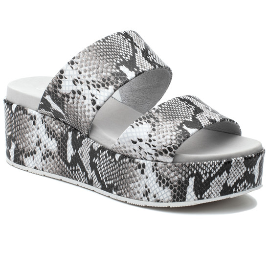 JSlides QUINCY Black White Embossed