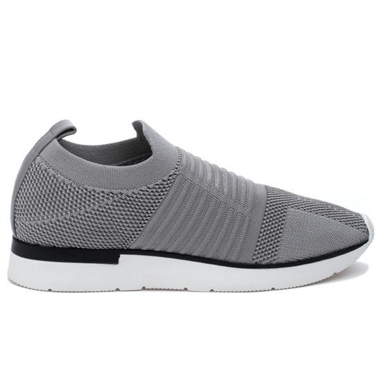 JSlides GREAT Light Grey Knit