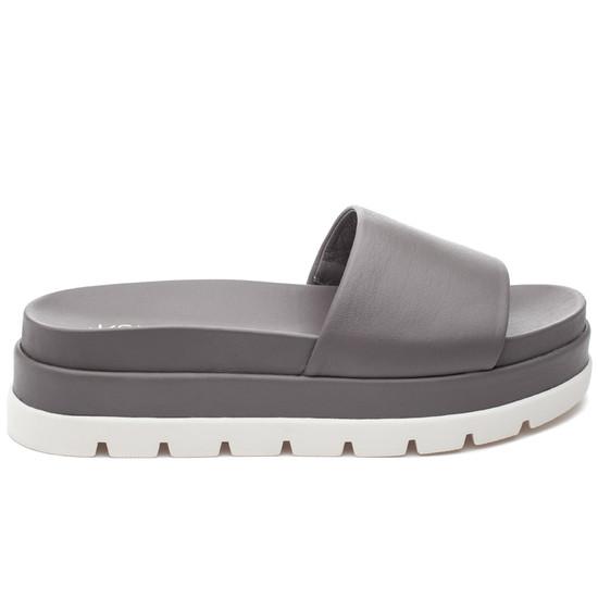 JSlides BIBI Grey Leather