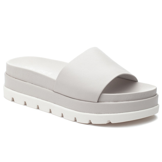 JSlides BIBI Ivory Leather