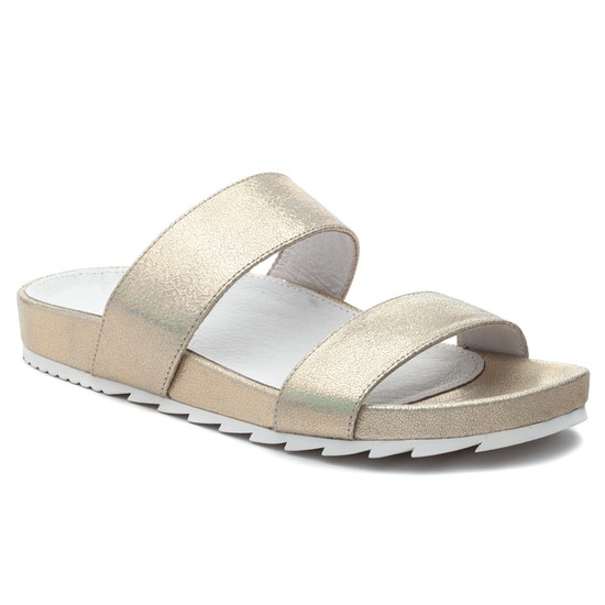 JSlides EDIE Platino Crinkle Leather