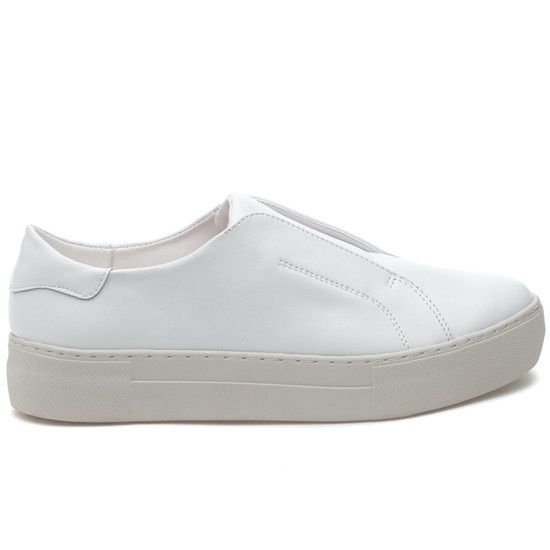 JSlides ALARA1 White Leather