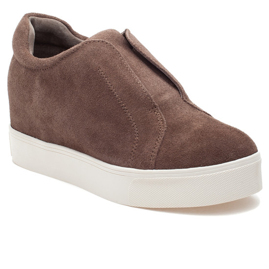 STARR Taupe Suede