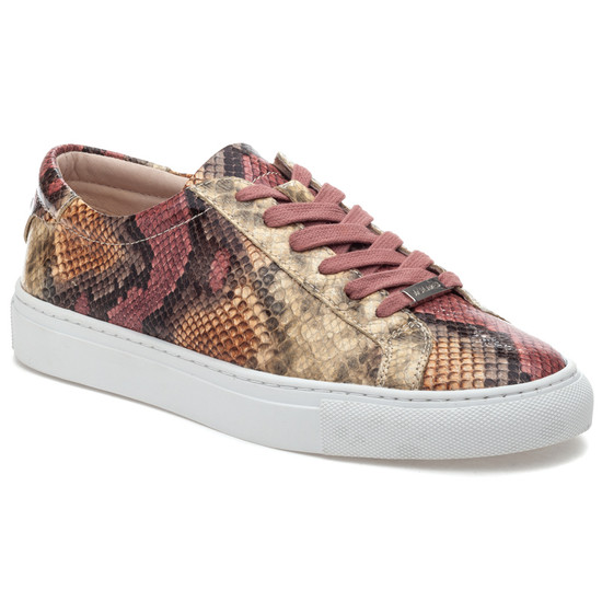 LACEE Pink Multi Embossed Leather