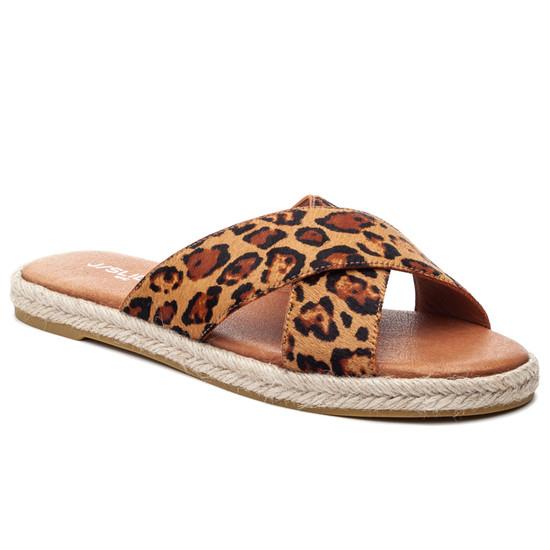 JSlides REVA Tan Leopard