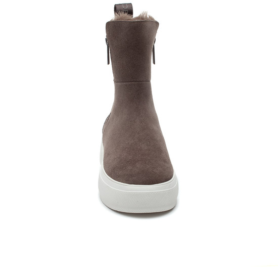 CAROLE Taupe Waterproof Suede