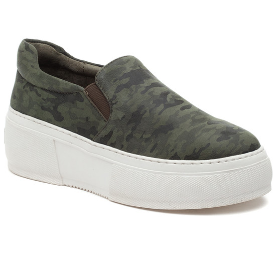 CLEO Green Camo Leather