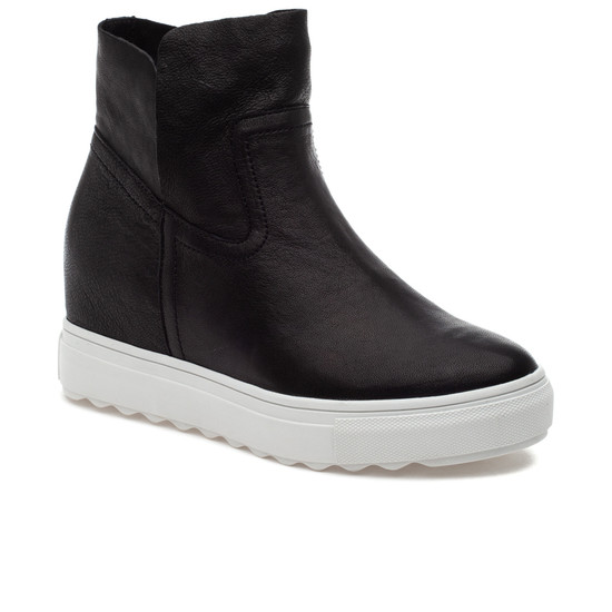 JSlides POSH Black Leather
