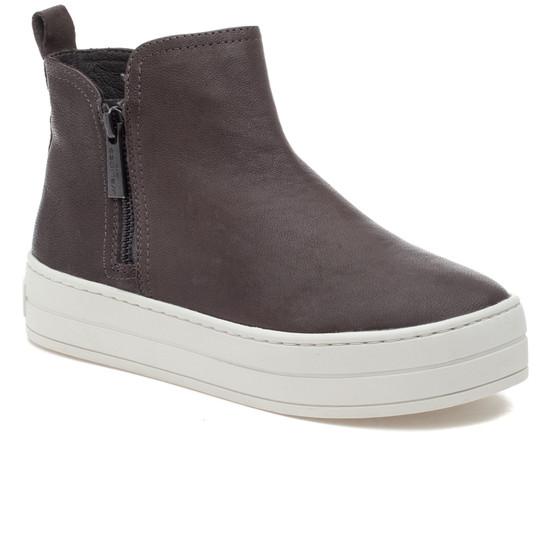 CINDY Grey Leather