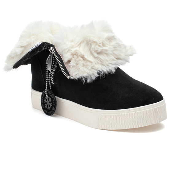 WALLACE Black Suede