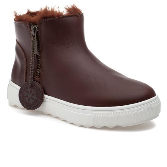 POPPY Light Brown Waterproof Leather