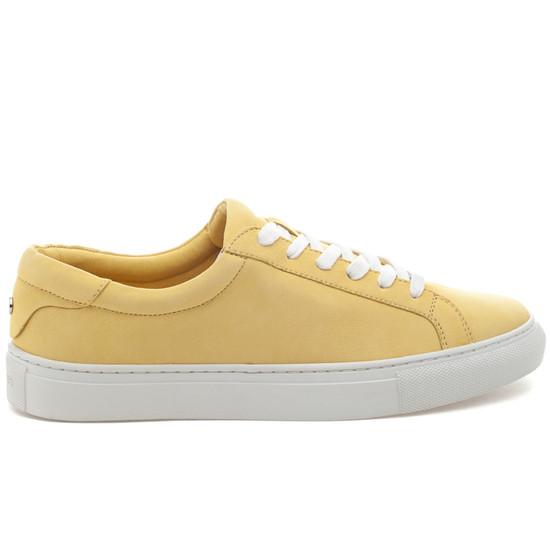 LACEE Yellow Waxy Nubuck