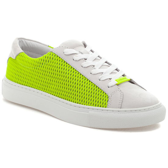 LACEE LASER Neon Yellow Leather