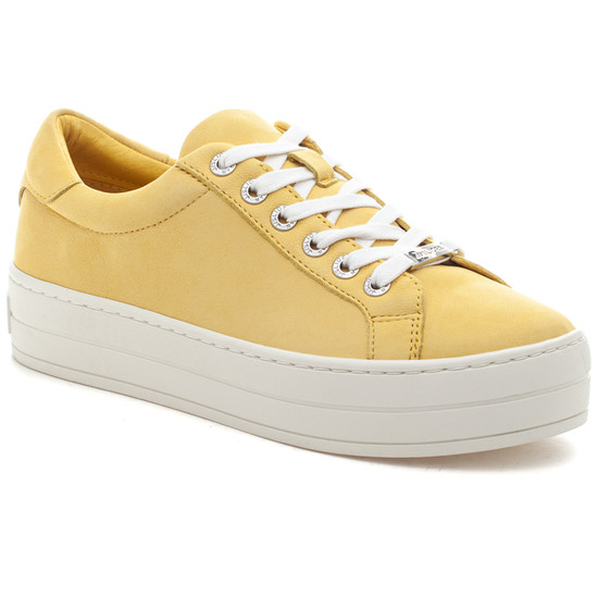 HIPPIE Yellow Waxy Nubuck
