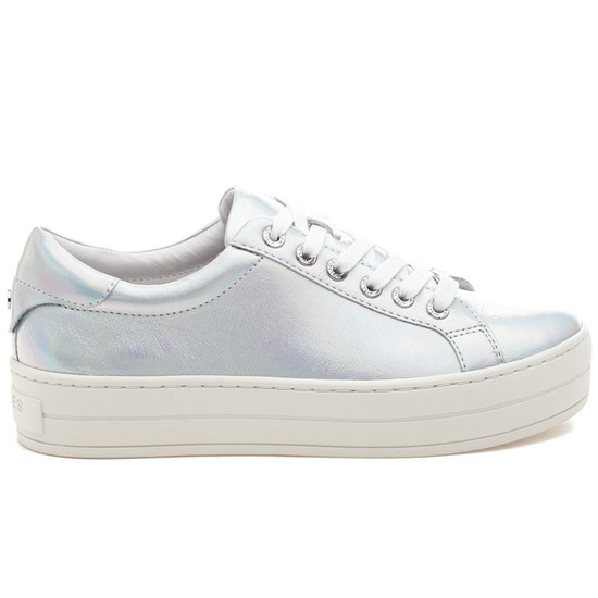 HIPPIE Silver Metallic Leather