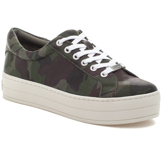 HIPPIE Green Camo Leather
