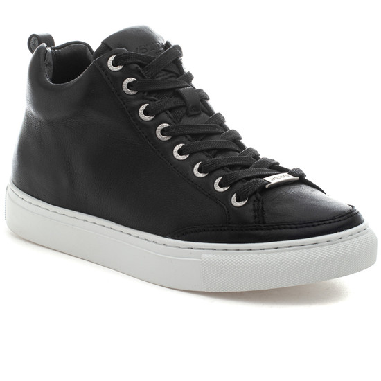 LUDLOW Black Leather